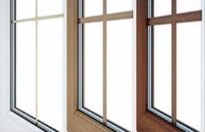 Декоративные вставки шпросы Придаст вашим окнам индивидуальный внешний вид. Раскладки вставлены прямо в стеклопакет, поэтому они никогда не пачкаются и не ломаются, а значит не требуют обслуживания.