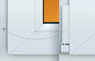 Скрытые петли на окна С такими петлями окно выглядит эстетичней и оригинальней, а также лучше сохраняет тепло.