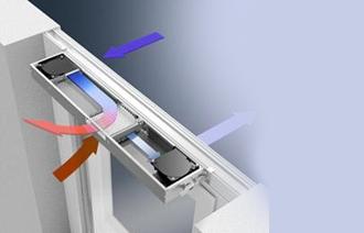 Вентиляционный клапан для проветривания В отличии от деревянных окон, пластиковое окно герметично, и чтобы обеспечить естественную циркуляцию воздуха имеет смысл дополнительно установить вентиляционный клапан. Такой клапан для окон, обеспечит нормируемый приток свежего воздуха, не создаёт сквозняков, предотвращает запотевание окон и выпадение конденсата в помещение с высокой влажностью.